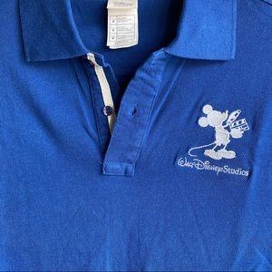 NWOT Walt Disney Studios Polo Shirt